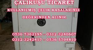 Ankara da çelik para kasası alanlar ve satanlar